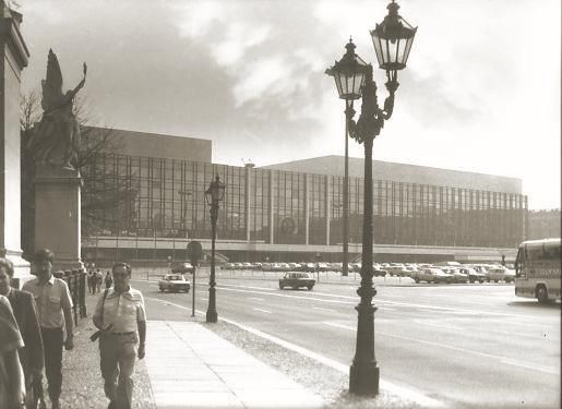 Der Palast der Republik in Berlin